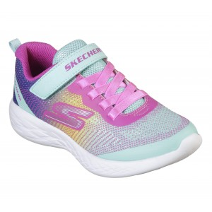 Sneakers Skechers Go Run 600 Dazzle Strides Turquoise
