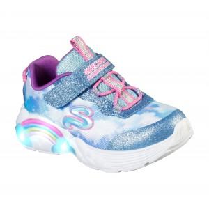 Sneakers Skechers Rainbow Racer Blu