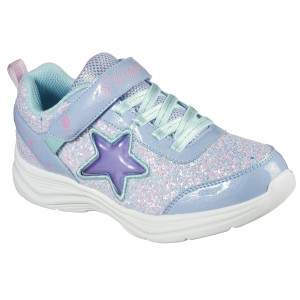 Sneakers Skechers Glimmer Kicks Starlet Shine Lavender Lighted