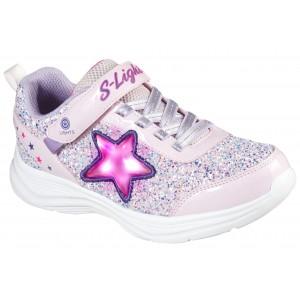 Sneakers Skechers Glimmer Kicks Starlet Shine Pink Lighted