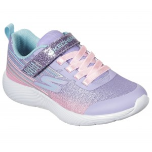 Sneakers Skechers Dyna Lite Shimmer Streaks Lavender Sparkle