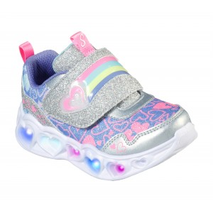 Sneakers Skechers Hearts Lovie Dovie Silver