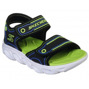 Sandale Skechers Hypno Splash Black Blue Lime