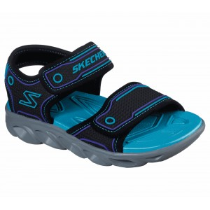 Sandale Skechers Hypno Splash Black Turquoise