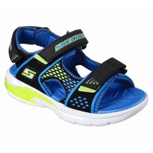 Sandale Skechers Beach Glower Black Blue