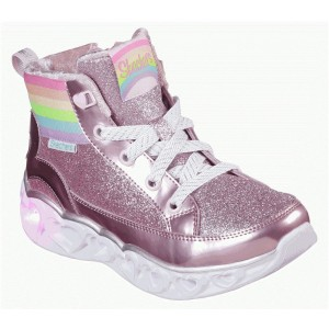 Cizme Skechers Heart Light Rainbow Diva