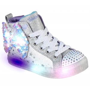 Sneakers Skechers 314015L Twi-Lites Starry Gem White Silver