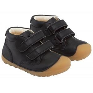 Pantofi Bundgaard BG101068 Petit Velcro Black Gum