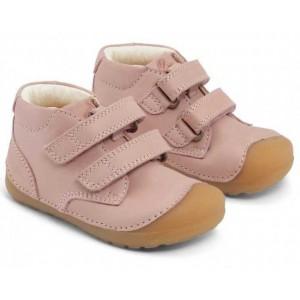 Pantofi Bundgaard BG101068 Petit Velcro Old Rose