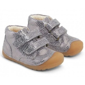 Pantofi Bundgaard BG101068 Petit Velcro Gravel