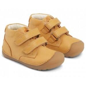 Pantofi Bundgaard BG101068 Petit Velcro Yellow