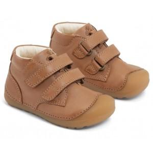 Pantofi Bundgaard BG101068 Petit Velcro Caramel