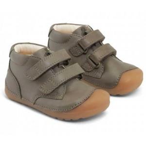 Pantofi Bundgaard BG101068 Petit Velcro Army Ws
