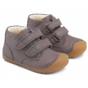 Pantofi Bundgaard BG101068 Petit Velcro Dark Grey