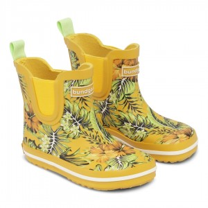 Cizme de ploaie Bundgaard bg401022 Short Classic Rubber Boot Tropical Yellow