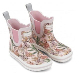 Cizme de ploaie Bundgaard bg401022 Short Classic Rubber Boot Rose Flamingo