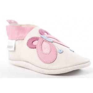 Pantofi Bobux Milk Butterfly