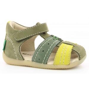 Sandale Kickers Bigbazar 2 Vert Tricolore