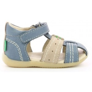 Sandale Kickers Bigbazar 2 Bleu Gri
