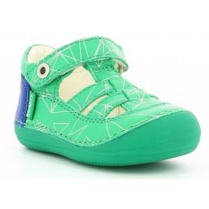 Sandale Kickers Sushy Green Galactic