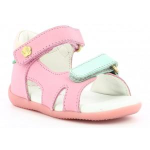 Sandale Kickers Binsia 2 Pink Gold Blue