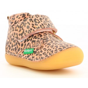 Ghete Kickers Sabio Beige Leopard