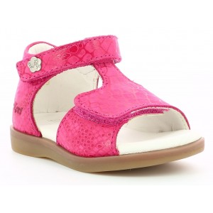 Sandale Kickers Giusticia Pink Printed Re