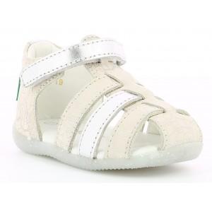 Sandale Kickers Bigflo 2 Silver Ethnic