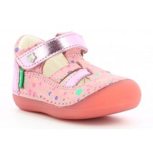Sandale Kickers Sushy Pink Blossom