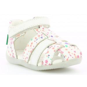 Sandale Kickers Bigflo 2 White Blossom