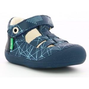 Sandale Kickers Sushy Navy Galactic