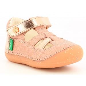 Sandale Kickers Sushy Pink Ethnic