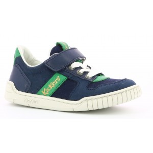 Sneakers Kickers Wintup Blue Navy Green