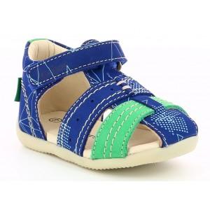 Sandale Kickers Bigbazar 2 Blue Green Gala