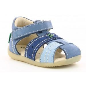 Sandale Kickers Bigbazar 2 Blue Tricolor