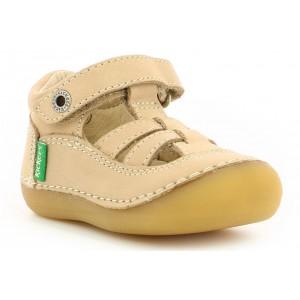 Sandale Kickers Sushy Beige