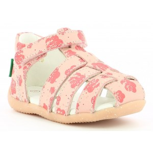 Sandale Kickers Bigflo 2 Pink Flower