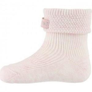 Sosete bumbac MP Denmark Pique Baby Light Pink Melange