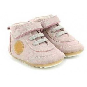 Sneakers Robeez Milo Rose Clair Metalic