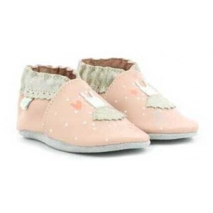 Pantofi Robeez Dress Ballet Rose Clair