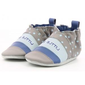 Pantofi Robeez Softbayastars Gris Bleu