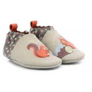 Pantofi Robeez Woodcutters Beige Gris