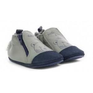 Pantofi Robeez Schoobi Gris