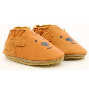 Pantofi Robeez Sweety Bear Crp Camel