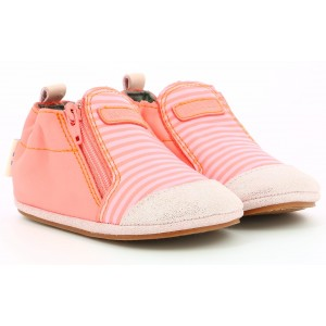 Pantofi Robeez Sailor Sweater Rose Corail