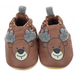 Pantofi Robeez Little Stag Marron Moka