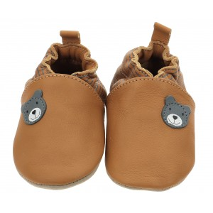 Pantofi Robeez Doubear Camel