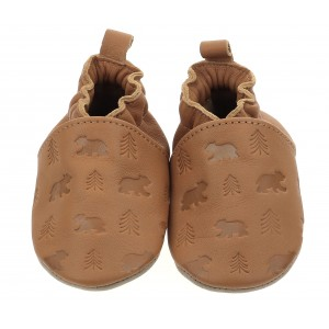 Pantofi Robeez Bear S Walk Camel