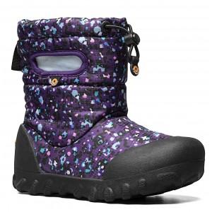 Cizme de zăpadă Bogs 72757K-540 B-Moc Snow Little Textures Purple Multi