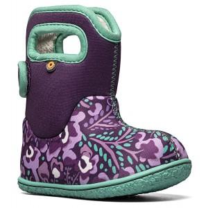 Cizme de zăpadă Bogs 72737I-540 Baby Bogs Super Flowers Purple Multi